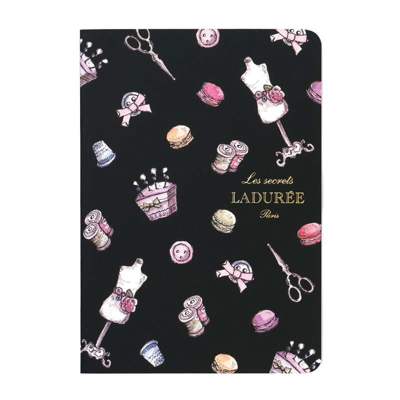 Laduree-notebook