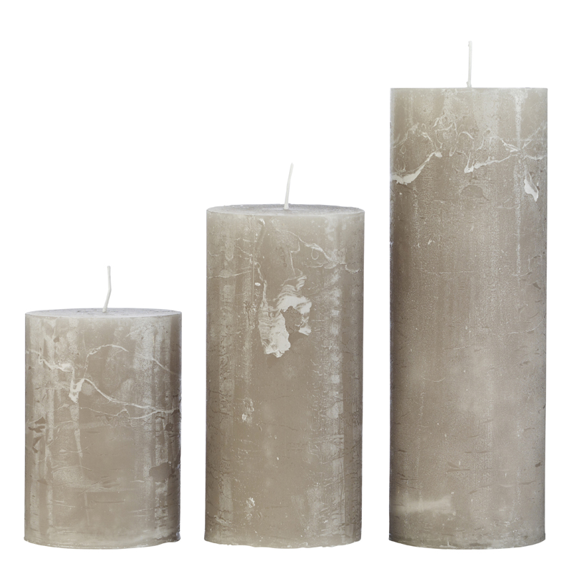 CozyLiving Rustic Candles