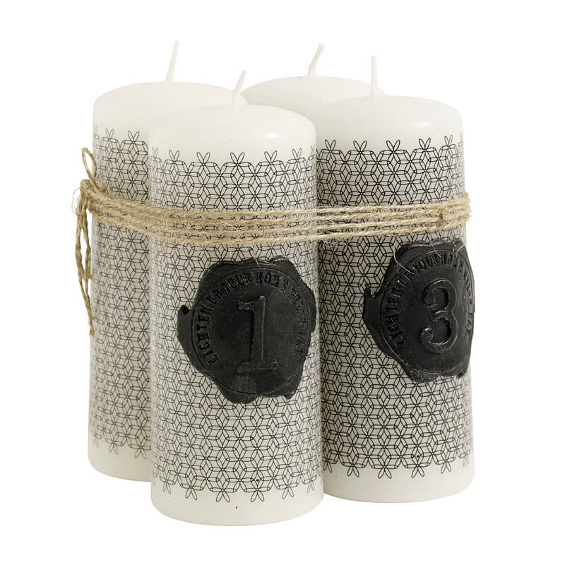 Nordal-Wax-candles-w-prin