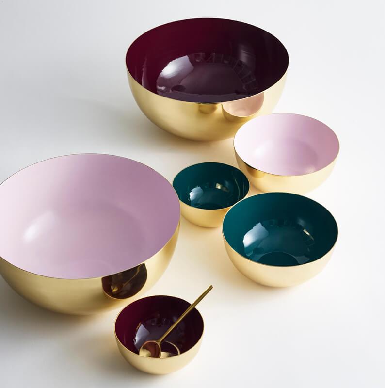 LouiseRoe-Bowl-brass-rosa