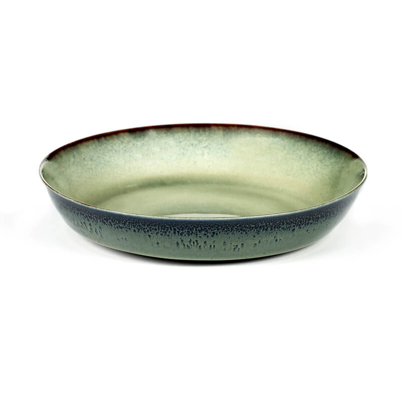 Serax-Plate-Misty-green-Dark-blue