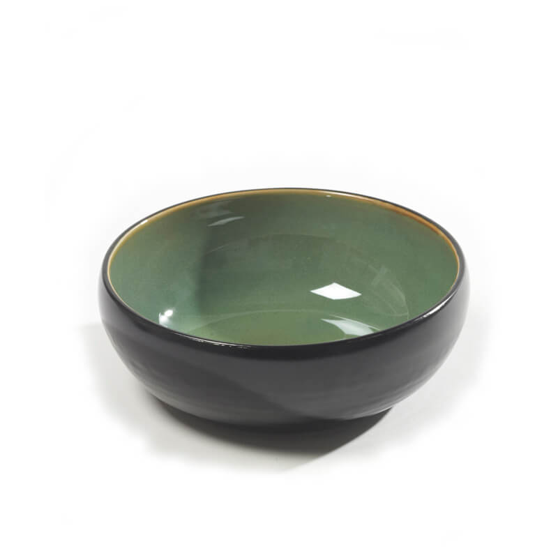 Serax-Pure-Bowl-green-black