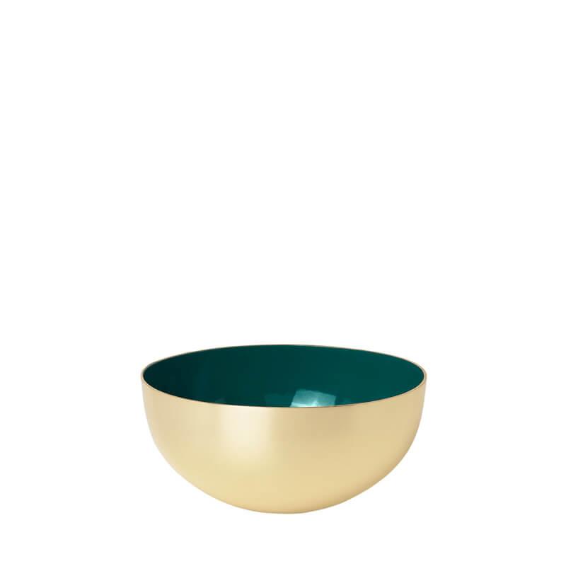 LouiseRoe-Bowl-brass-green