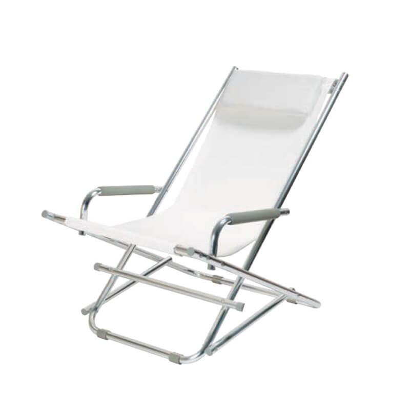 La chaise longue alu chair hvid hill street - La chaise longue lille ...