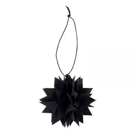 Oi Soi Oi Paper Star - Black