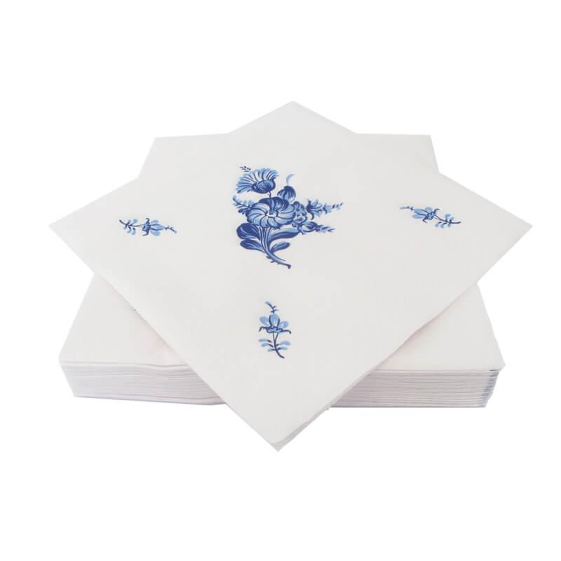 Blaa-Blomst-serviet