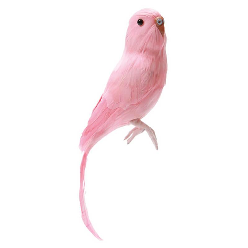Puebco-Dekorationsfugl-Pink