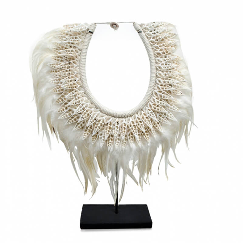Versmissen-Shell-Feathers-Necklace