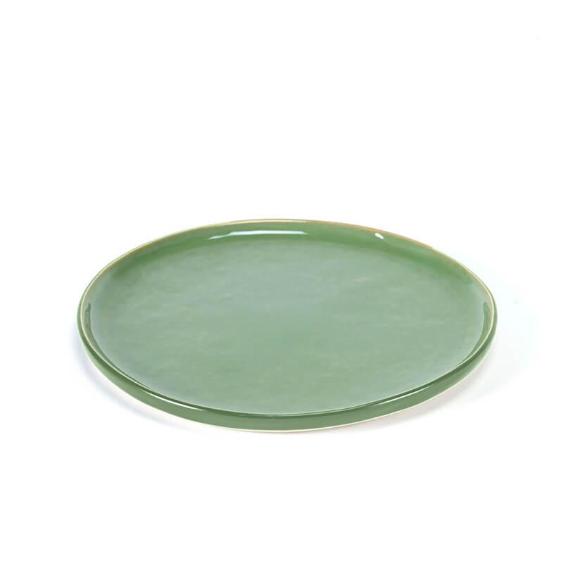 Serax-PURE-Plate-small-green