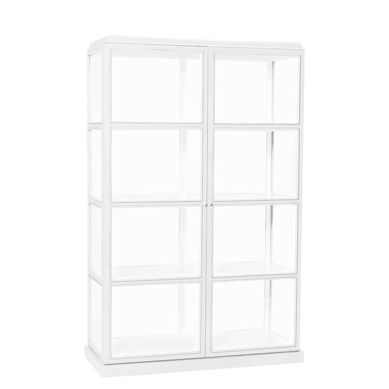 Hubsch-vitrineskab-hvidt