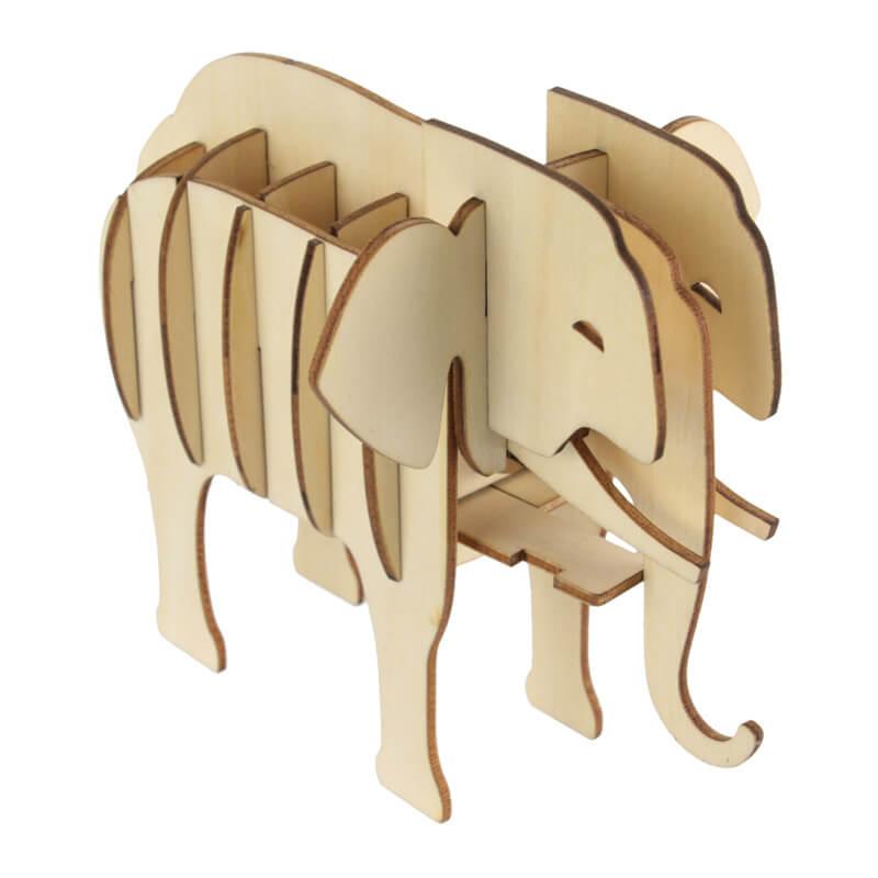 LaChaiseLongue-3D-puslespil-elefant