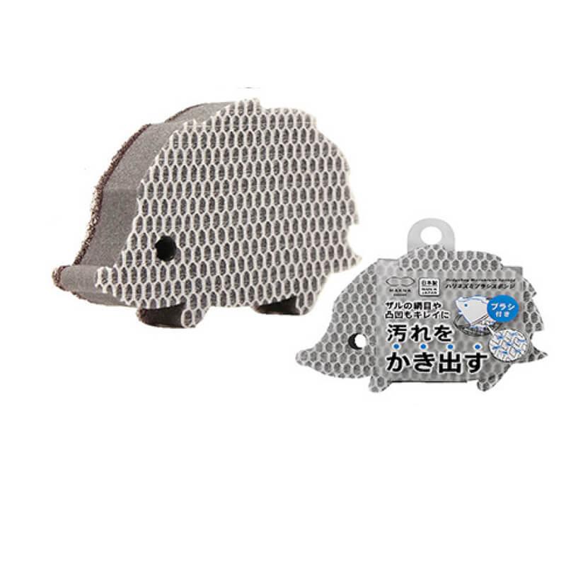 Hedgehog-Microbrush-Sponge