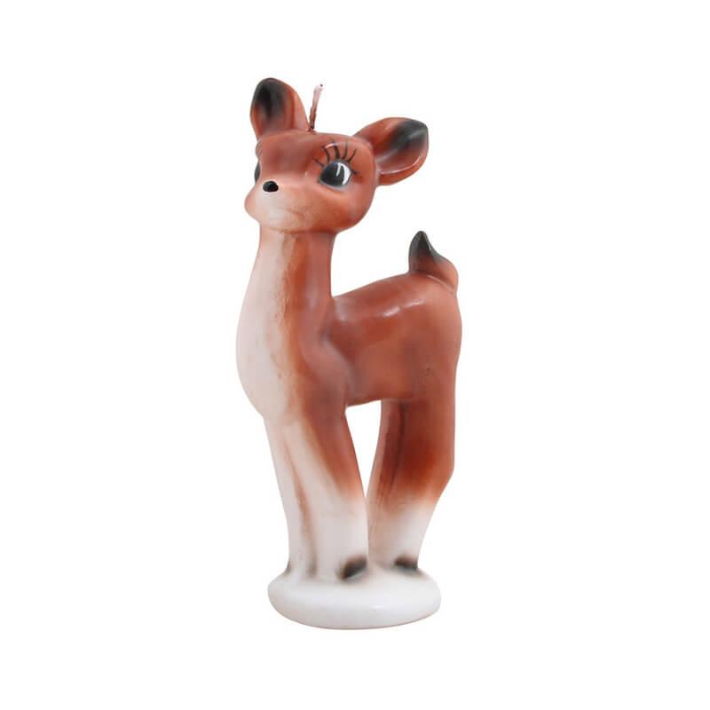 Klevering-stearinlys-bambi