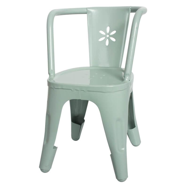 maileg-mini-metal-stol-groen
