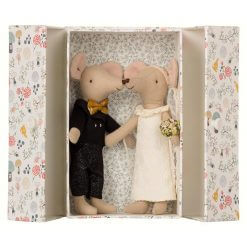 Maileg-mus-brudepar